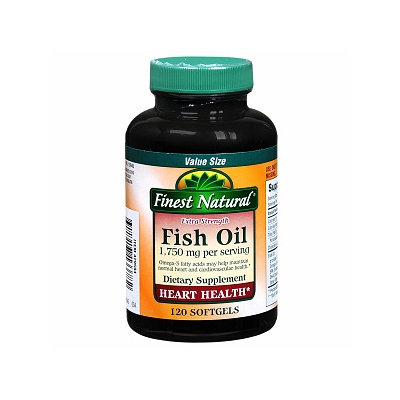 Finest Natural Fish Oil 1750mg Extra Strength Softgels