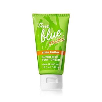 Bath & Body Works True Blue Spa Mini Super Rich Foot Cream 1.5 Oz.