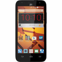 Boost Mobile - Zte Speed 4g No-contract Cell Phone - Black