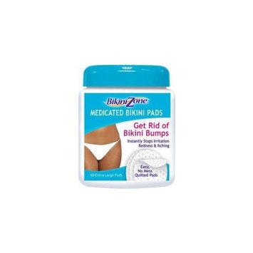 Bikini Zone Anti-Bumps, Medicated Bikini Pads 60 ea