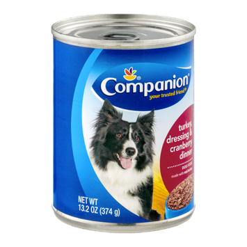 Companion Dog Food Turkey Dressing & Cranberry Dinner