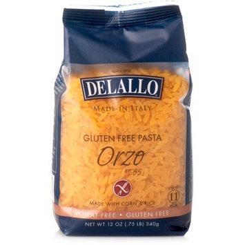 Delallo Orzo Gluten Free No. 65 12 Oz Pack Of 12