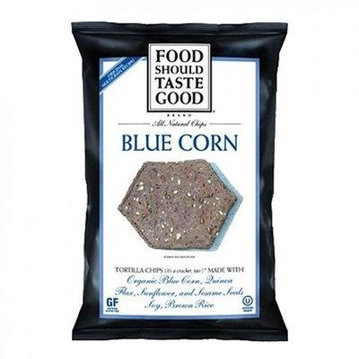 Food Should Taste Good Tortilla Chips, Blue Corn, 1.5-Ounce (Pack of 24)