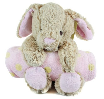 Beansprout Brown Bunny with Blanket