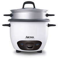 Aroma ARC7431NG 6 Cup Rice Cooker & Food Steamer