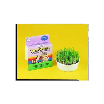 Mojetto Four Paws Vita-Greens Cat Bowl with Free Grass Treat (Single Pack)