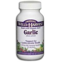 Oregons Wild Harvest BG16823 Oregons Wild Harvest Garlic - 1x90VCAP