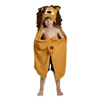 Zoocchini 11106 Leo the Lion Hooded Towel - 50 x 22 in.