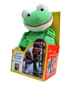 GoldBug Two in One Harness Buddy - Frog