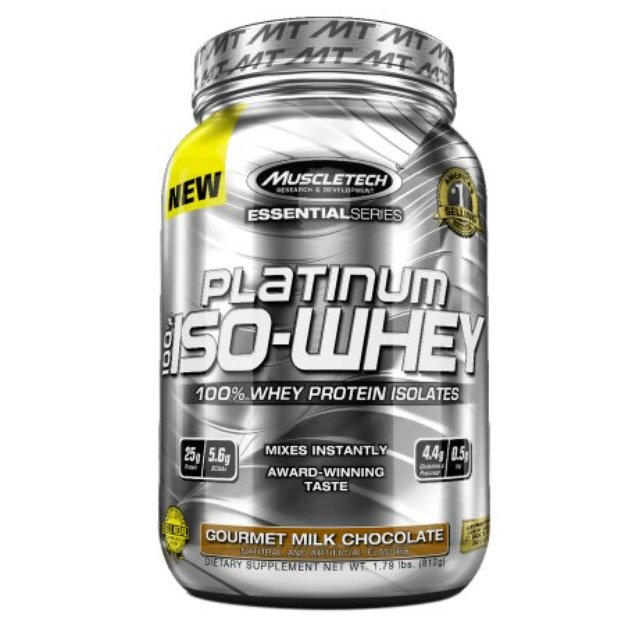 Muscletech Platinum 100% Iso-Whey Gourmet Milk Chocolate