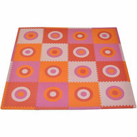 Sleeping Partners Tadpoles Tadpoles Circles Squared Playmat Set