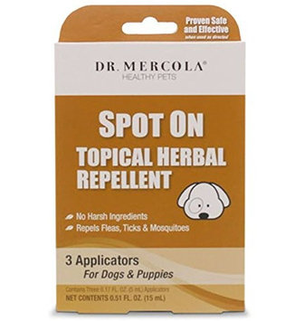 Dr Mercola Spot On Topical Herbal Repellent - Dogs & Puppies