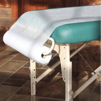 Vandue Corporation Royal Massage Perforated Non-Woven Paper Roll Sheets - 44 Yards - 10 Roll Case