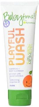 Playful Wash Shampoo & Body Travel Size Babytime 3.4 oz Liquid