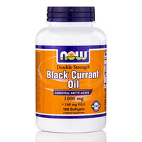 NOW Foods Black Currant Oil 1000 mg - 100 Softgels