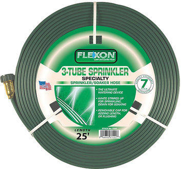 Flexon FLXFS25 Flexon 25 in. 3 Tube Sprinkler Hose