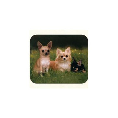 Fiddlers Elbow m14 Chihuahua Path Mouse Pad, Pack Of 2