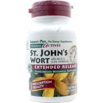 Nature's Plus - St. John's Wort, 450 mg, 60 tablets