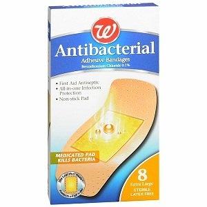 Walgreens Antibacterial Adhesive Bandages