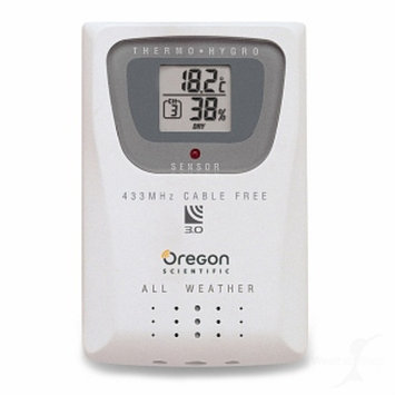 Oregon Scientific THGR810 Thermometer & Humidity Sensor with 10 Channels