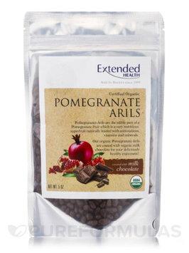 Organic Pomegranate Arils Milk Choc 5 oz by Extended Health