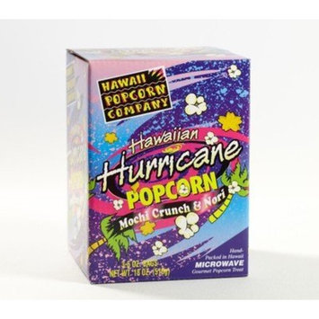 Hawaii Popcorn Company 3pk Hawaiian Hurricane Microwave Popcorn Gift Box