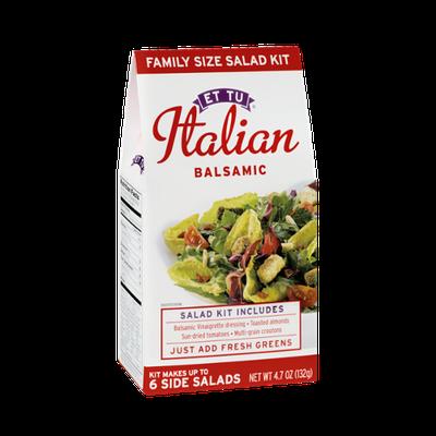 Et Tu Italian Balsamic Family Size Salad Kit