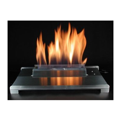 American Fireglass 20 Double Face Stainless Steel Propane Burner with Variable Control