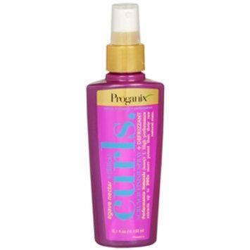 Proganix Curls Scrunch Finish Spray + Defrizzant, Agave Nectar + (Slilica), 5.1 fl oz