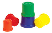 Guidecraft 16902 Stack 'N Sort Cups