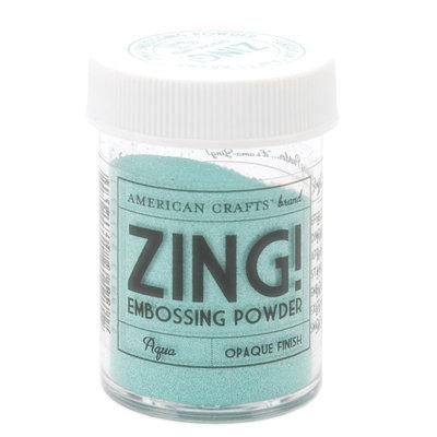 American Crafts Zing! Opaque Embossing Powder 1 Oz-Aqua
