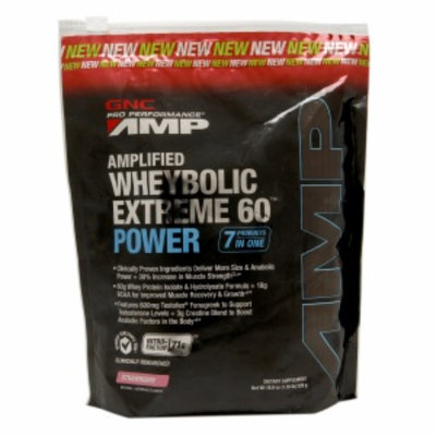 Gnc GNC Pro Performance(r) AMP Amplified Wheybolic Extreme 60(tm) Power - Strawberry