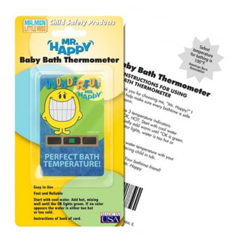Quest Hallcrest Mr. Happy Bath Thermometer - 4 pack