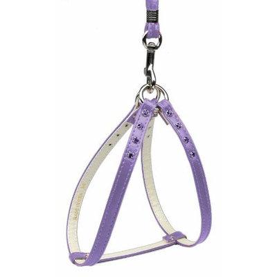 Mirage Dog Supplies Step-In Harness Purple W/ Purple Stones 18