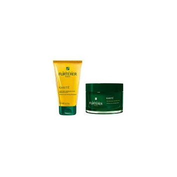 Rene Furterer Karite Intense Nourishing Shampoo (5.07 oz) & Karite Intense Nourishing Mask (6.76 oz jar) Duo