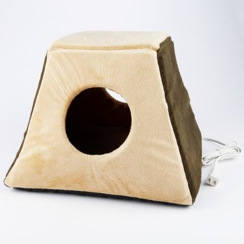 K & H Manufacturing Mocha Thermo Kitty Cabin