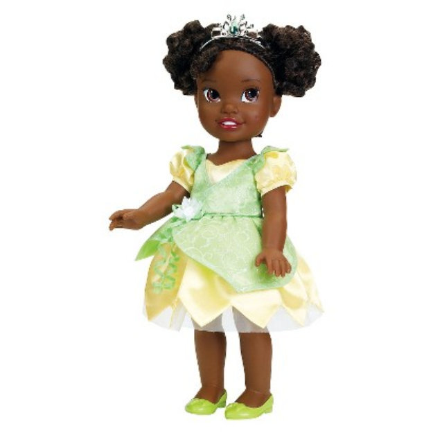 Slide: Disney Princess Tiana Toddler Doll