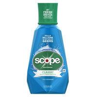 Scope Classic Original Mouthwash, Cool Peppermint, 33.8 fl oz