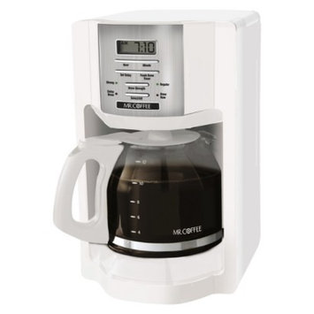 Mr. Coffee Mr Coffee White 12-Cup Programmable Coffeemaker