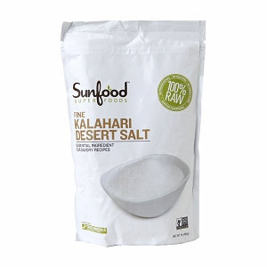 Sunfood Superfoods Kalahari Salt Fine