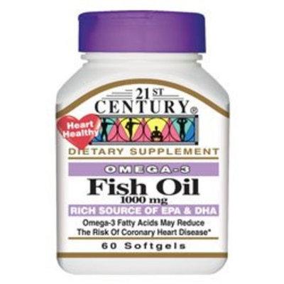 21st Century Omega-3 Fish Oil 1,000 mg 60 Sgels