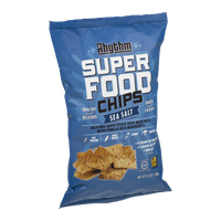 Rhythm Superfood Chips Sea Salt