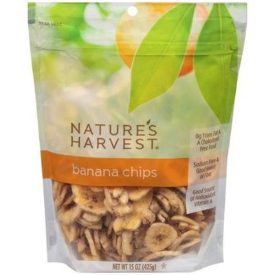 Nature's Harvest Banana Chips, 15 oz