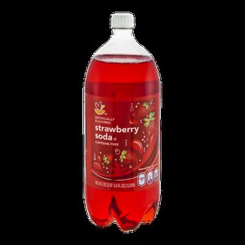 Ahold Soda Strawberry Caffeine Free