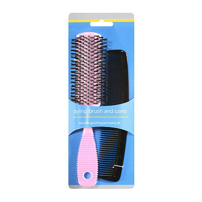 Sin Mok Brush Factory Styling Brush and Comb Set