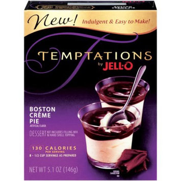 JELL-O Temptations Boston Creme Pie Dessert Kit