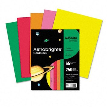 Wausau Paper Astrobrights Colored Card Stock