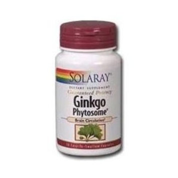 Solaray - Ginkgo Phytosome, 180 mg, 30 capsules [Health and Beauty]