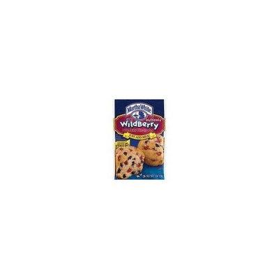 Martha White Muffin Mix Wildberry 7 oz. (Pack of 6)