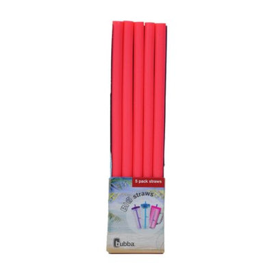 Bubba Brands bubba big straws 5ct of reusable straws (Pink)